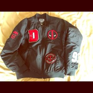 Marvel Dead Pool Jacket Black
